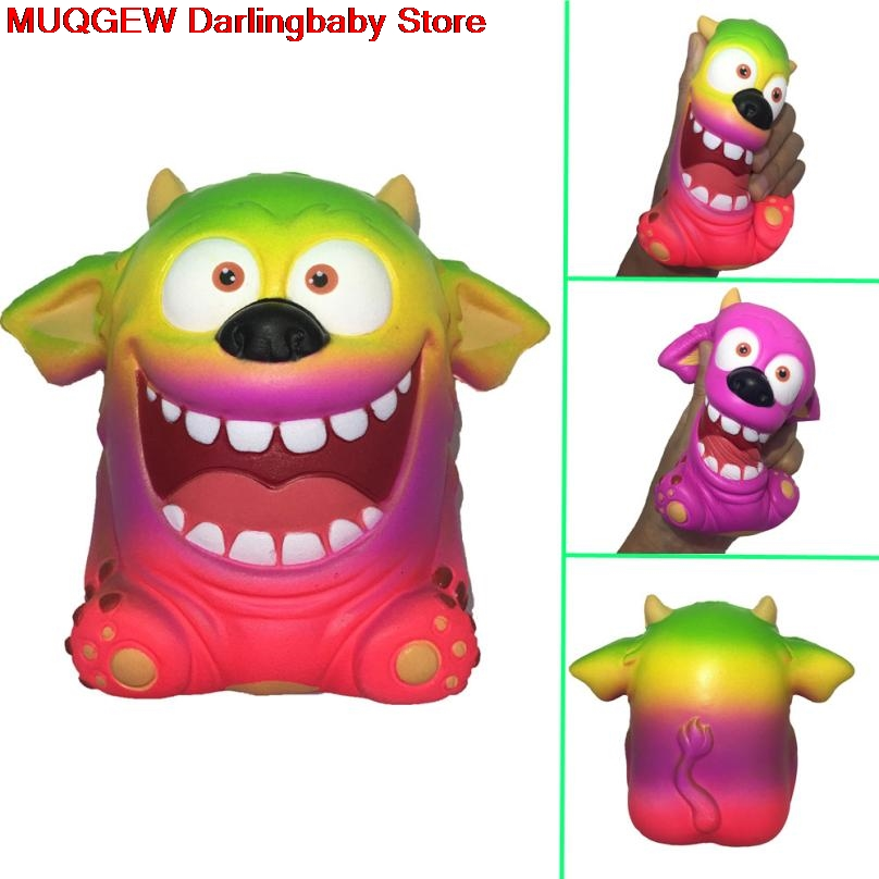 Squishy Cuteadorable Monster Scented Charm Slow Rising Squeeze Stress Reliever Toys Kawaii Squish Stress Reliever#a Stress Relief Toy Squeeze Toys