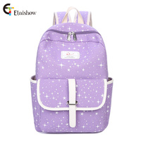 Etaishow Canvas Men Women Backpack College High Middle School Bags Teenager Boy Girls Laptop Travel Backpacks