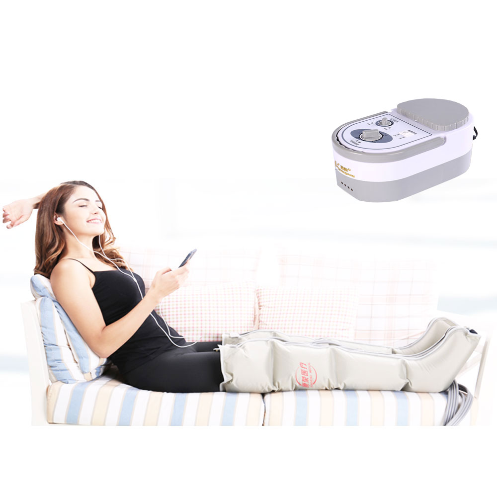 Pneumatic Leg Massager Kneading Foot Massage Instrument Electric Air Wave Pressure Physiotherapy Massage манеж babies p 2hp