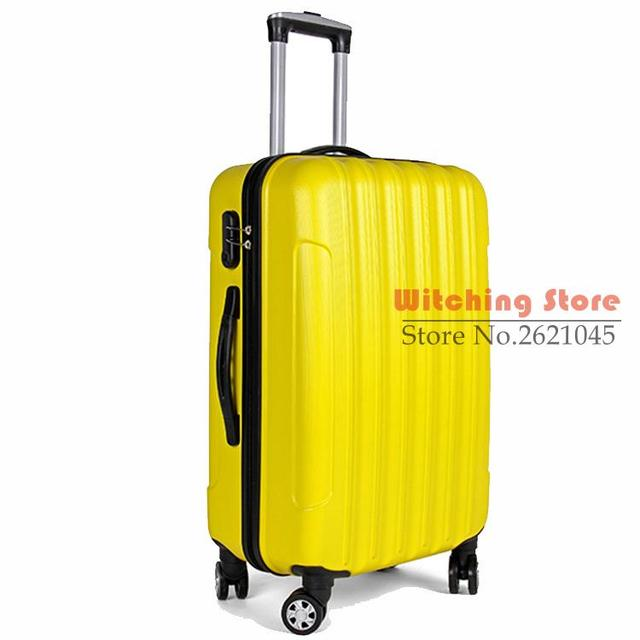20 INCH  20# Fashion bags wear ABS box color universal wheel selling 20 suitcase #EC FREE SHIPPING