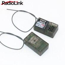 RadioLink R6FG 2.4GHz 6CH odbiornik wysokiego napięcia RC Gyro wersja dla RadioLink RC6GS kontroler do zdalnego sterowania nadajnik