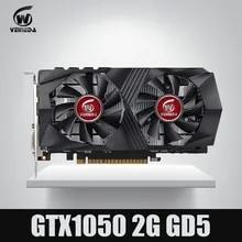 VEINEDA Graphics Card GTX1050 2G DDR5 Gaming Mining Video