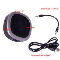 1Set Multifunctional Wireless Bluetooth Adapter Aptx HD Low Latency 3.5MM Digital Audio Transmitter Receiver for TV PC Headphone