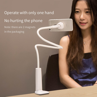Benks Strong Magnet Desk Lazy Phone Holder Flexible Long Arm Magnetic Bracket 360 Degree Rotation Phone