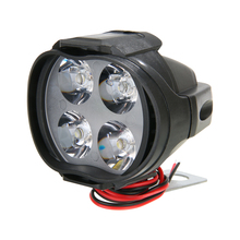 1pc 12W High Power Motorcycle E-bike LED Headlight Spot Fog Light White Working External Lighting Motorbike Waterproof
