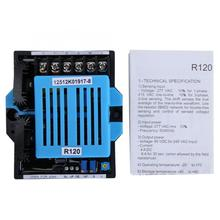 Single Phase R120 50/60Hz Generator Automatic Voltage Regulator 4A Generator AVR 277V AC 10pcs lot intersil isl6263crz 6263crz 5 bit vid single phase voltage regulator for imvp 6 santa rosa gpu core