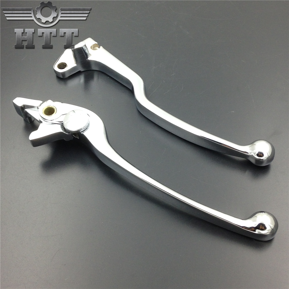 Aftermarket free shipping motorcycle parts Brake Clutch Hand Levers for GSX-R GSXR GSX 600 750 1000 TL1000S Chrome aftermarket free shipping motorcycle parts for motorcycle 2006 2007 suzuki gsxr 600 750 2005 2008 gsx r 1000 chrome