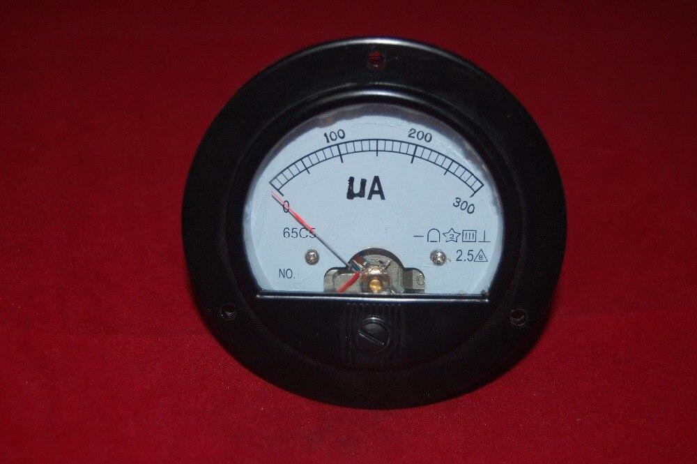 Round Analog Panel Meters : Aliexpress buy dc ua round analog ammeter panel