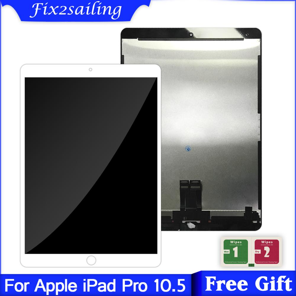 Calidad AAA + para iPad Pro 10,5 LCD A1701 A1709, pantalla táctil de cristal, digitalizador de montaje completo, reemplazo digitalizador