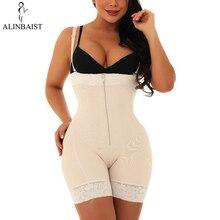 Prenda moldeadora vientre sin costuras para mujer, adelgazador de muslos, elevador de glúteos de cintura alta, modelador postparto