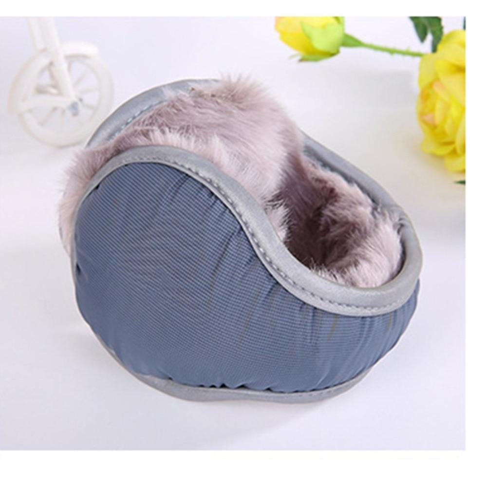 Winter Protection Plush Earmuff Fleece A