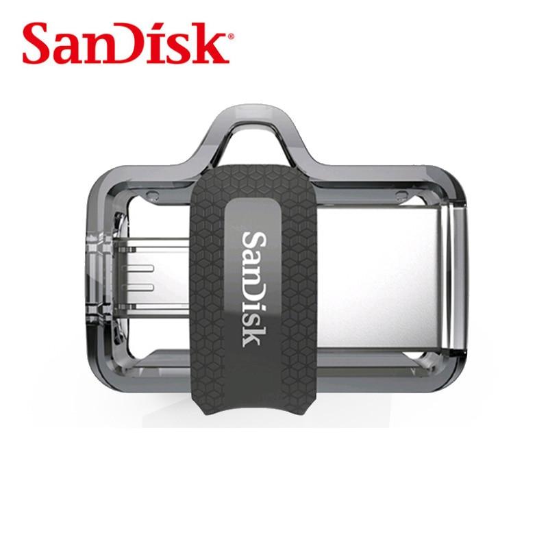Sandisk крайняя флэш-накопитель USB OTG 128 ГБ High Speed 150 МБ/с. pendrives USB3.0 sddd3 для смартфонов, планшеты, PC, mac
