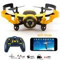Nova Chegada JXD 512 W WIFI MIni Câmera FPV Zangão Com One-Key-retorno & Modo Headless RC Quadcopter Zangão Para Presente Das Crianças