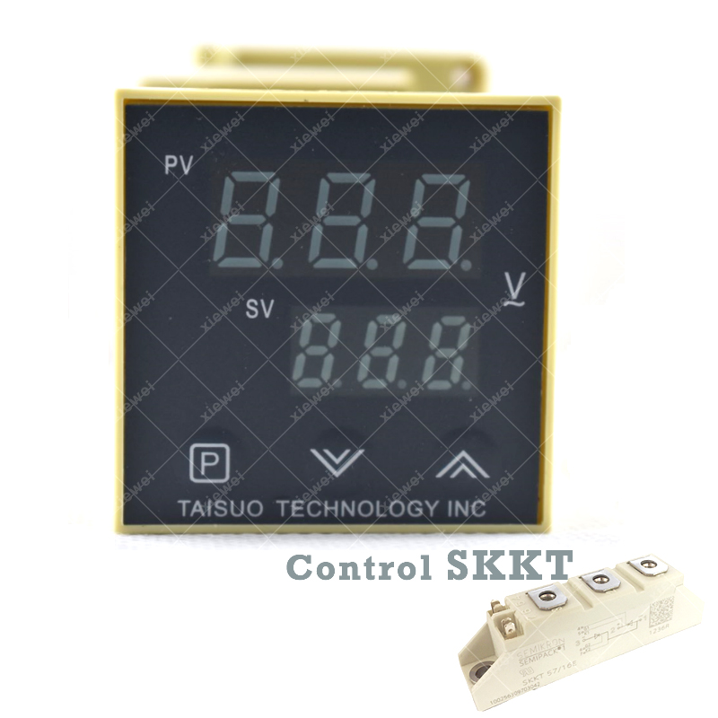 TAISUO 48mm SCR voltage regulator control SKKT thyristor modules for PET Blow Molding Machine silicon controlled mtc mtx mta mtk skkt pk 25a thyristor module scr high quality page 5
