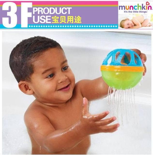 2 cores crianças brincando na água do banho banho do bebê de brinquedo chocalhos enigma bola banho de bola brinquedos educativos