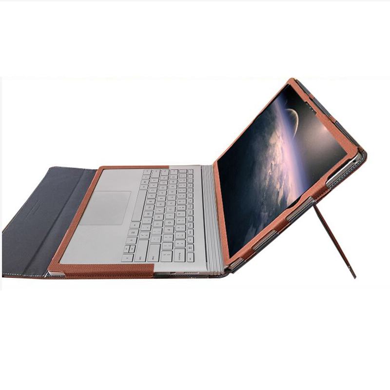 Stand Cover For Microsoft Surface Book 2 15 Inch Multi use Split Design Tablet Laptop Sleeve