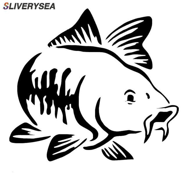 SLIVERYSEA 15*15cm Car Sticker Marine Animal Fish Window Reflective Stickers Car Styling Decoration Sticker Auto Accessories