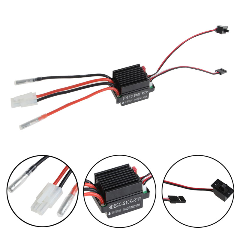 320A Brushed Speed Controller ESC For RC Car Boat Truck Motor R/C Hobby Hot %328/319 wholesale 1 set 320a high voltage esc brushed speed controller for rc car truck boat dropship