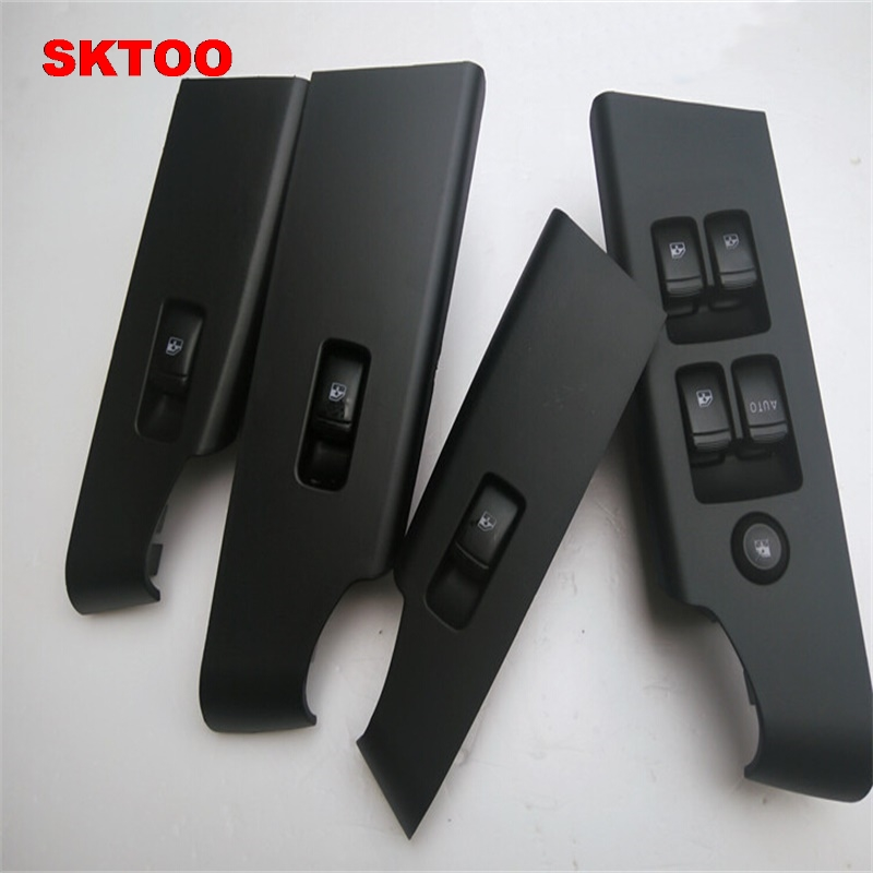 SKTOO 4PCS For Chevrolet new LOVA Wind four door master switch electric window lift switch with