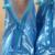 2016 Azul Mulheres Sapatos Sapato Chuva Cobre Reutilizável Cobre Engrossar Sola Plana Sapato Cobre À Prova D' Água