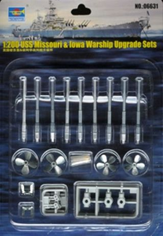 <font><b>Trumpeter</b></font> <font><b>1:200</b></font> USS Missouri & Iowa Warship Upgrade Sets 06631 image
