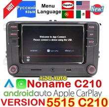 CarPlay Android Auto RCD330 RCD340 плюс Noname радио 187B C210 для VW Tiguan Гольф 5 6 Jetta MK5 MK6 Passat CC поло 6RD035187B(China)