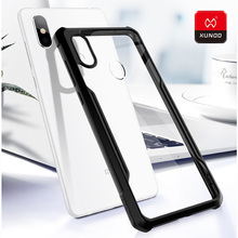 Original Luxury Transparent Soft Shell Case New For Xiaomi mi8 SE Phone Silicone 360 Shockproof Full Protective Back Cover Cases