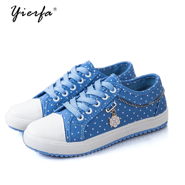 bf273e43e38 2019 Spring New Canvas Shoes Female low to help Casual Shoes Flat Shoes  Girls Breathable Student