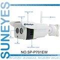 SunEyes SP-P701EW Беспроводной 1280*720 P 1.0MP Ip-камера ONVIF 2.2 Водонепроницаемые ИК CUT Ночного Видения P2P с Micro sd слот