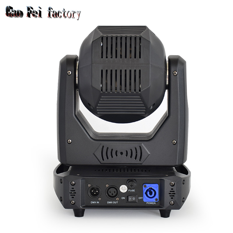 stage light moving head LED 100W sport light gobos with colors and prism dmx 512 led stage lighting for dj - 3