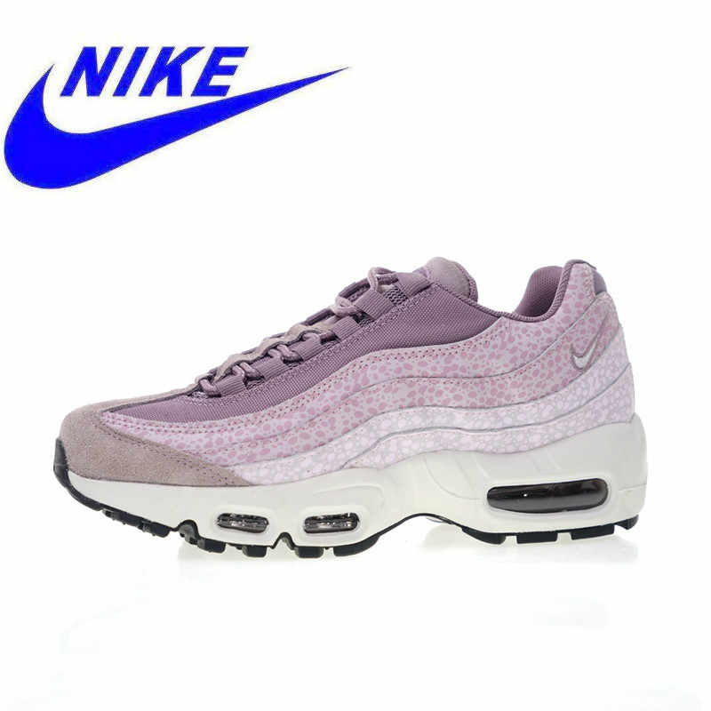 f0a33251 Новинка Высокое качество Nike Air Max 95 PRM фиолетовый дым женские  кроссовки, спортивная обувь амортизация