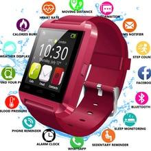 New Smartwatch Bluetooth Sport Smart Watch U8 For IPhone IOS Android Smart Phone Wear Clock Wearable Device Smartwach  GT08 DZ09 все цены