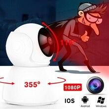 Full HD 1080P камера беспроводная домашняя HD 720P камера ночного видения WiFi PK Xiaomi Mijia