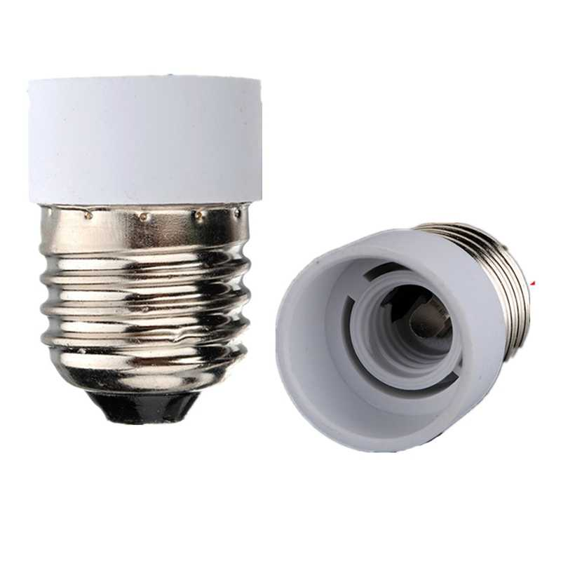 E14 To E27 Light Socket Lamp Base Holder Converters Bulb High Temperature Resistant Adapter Chandelier LED Lamp Stand