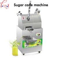 Machine commerciale de jus de canne à sucre d'acier inoxydable de 220 v 300 KG/H SXC-80 de presse-fruits d'extracteur de jus de canne à sucre