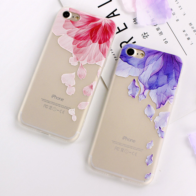 Ultra-thin Simple Scrub Silicone Phone Cases For iphone 6 6S 8 7 Plus Soft Back Cover 1