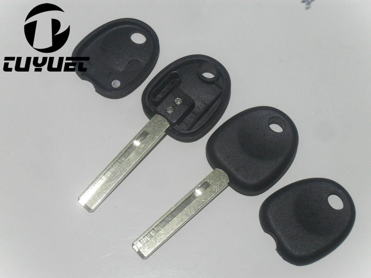 Transponder key shell case para Hyundai Accent Fob key cover 10pcs / lot