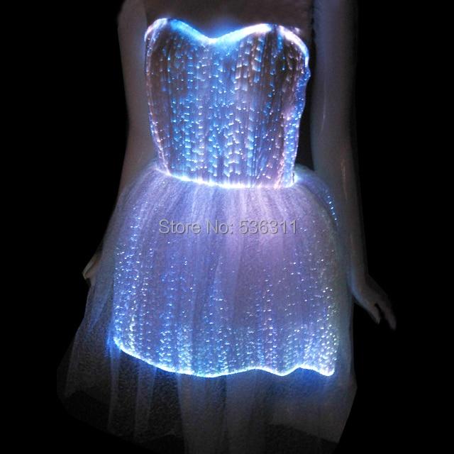 2017 mode Carnaval robe sexy costumes pour femmes led de soirée Robe de Soirée Robe lumineuse femmes vestidos robe décontractée