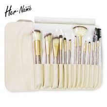 Hername make up brushes cosmetic brushes professional makeup brushes kits makeup brush set artist kit powder brand