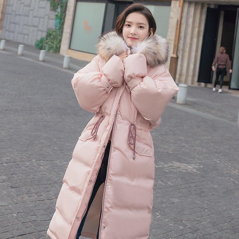 black Hiver Survêtement Parkas Automne Épais Haute green Le Pink 2018 Col De Femmes Chaude Slim Qualité Vers Veste Fourrure Capuche Solide Bas Coton Vente Coréennes wTXHYqS