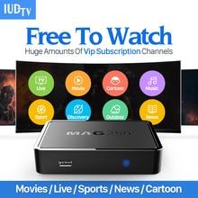 Linux коробка IPTV Mag 250 IP TV приставку Европа арабский подписки IPTV Швеции canl плюс французский Германии IPTV Каналы tv box