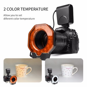 Image 4 - SHOOT Led Macro Ring Flash Light for Nikon D5300 D3400 D7200 D750 D3100 Canon 1300D 6D 5D Olympus e420 Pentax K5 K50 Dslr Camera