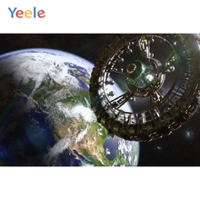 Yeele Earth Universe Spacecraft Space Children Birthday Party Photograph Backdrop Boy Photocall Background For Photo Studio