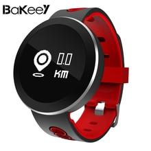 Дешевые Bakeey Q7 Смарт-часы Водонепроницаемый крови кислородом Давление усталость сна монитор сердечного ритма сообщение напоминание Smartwatch