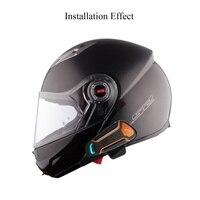 Bluetooth Helmet Anti interference Intercom For Motorcycle Helmet Riding Hands Free Headphone motorcycle bluetooth intercoms