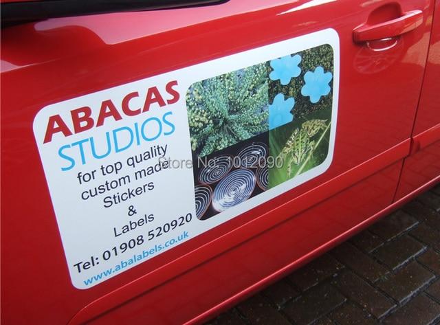 Car advertising sticker vinyl self adhesive car decal sticker free shipping size29