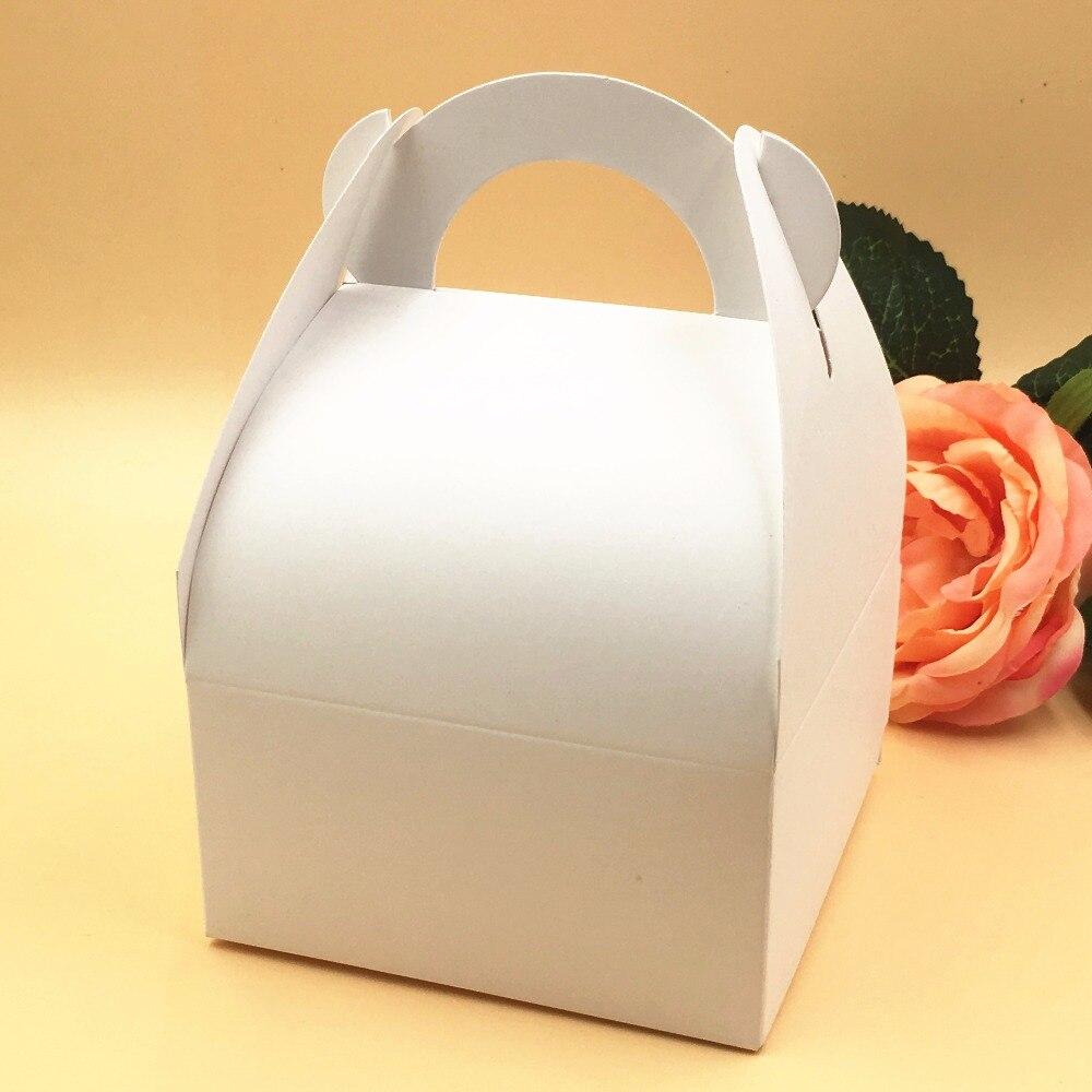 20pcs/lot Kraft Wedding Party Favors Gift Boxes Blank Chocolates ...