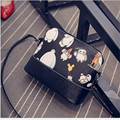 Baymax Cartoons graffiti shell single shoulder bag fashion women messenger bags brand handbag hiqh quality leather bag wholesale