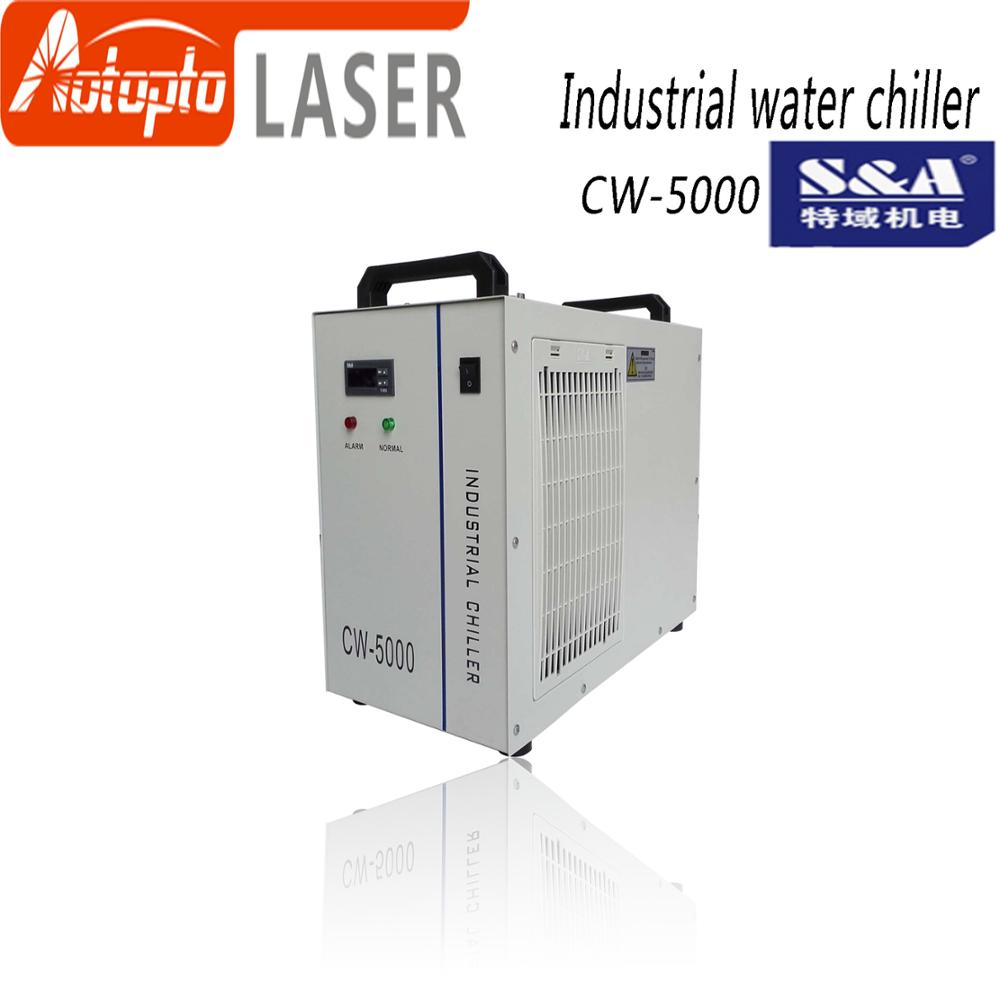 hot sell indrustry CW5000 water <font><b>chiller</b></font> cooling for 100W or 150W CO2 laser tube and laser machine image