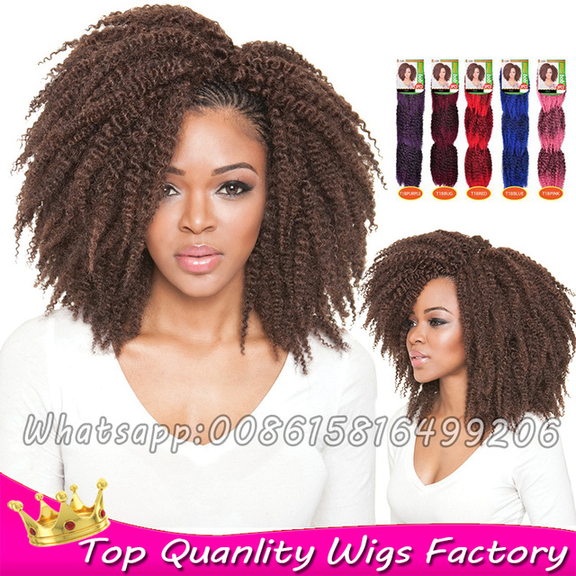 3pcspack Crochet Braids Ombre Synthetic Dreadlock Extensions